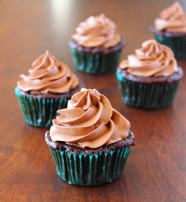 Chocolate Zucchini Cupcakes with Cream Cheese Frosting ...