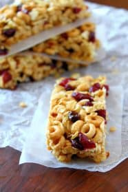 Cheerio Granola Bars