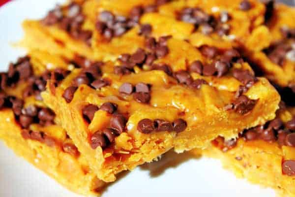 Sweet and Salty Frito Bars
