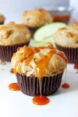 Praline Apple Muffins