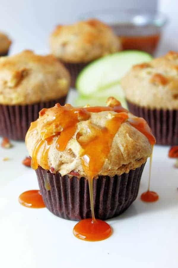 Praline Apple Muffins