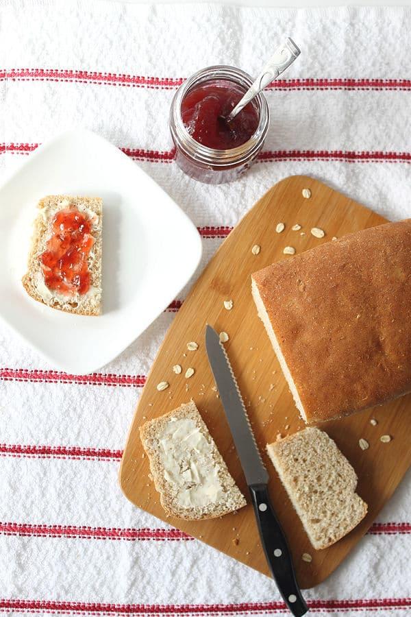 Whole Wheat Oatmeal Bread
