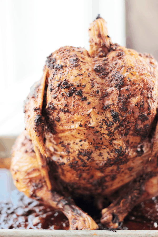 This Beer Can Chicken will make your bird super moist and flavorful and it's all done on the grill!