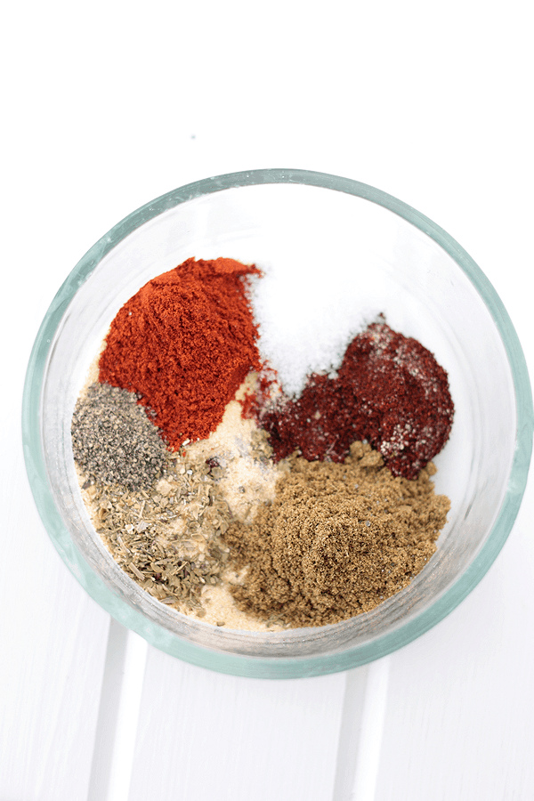 "This Homemade Taco Seasoning is quick and easy to make and doesn't have all of that ""extra stuff"" in it. 