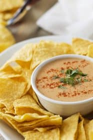 This Chile Con Queso Dip is quick, easy and a great crowd pleaser! | Countryside Cravings