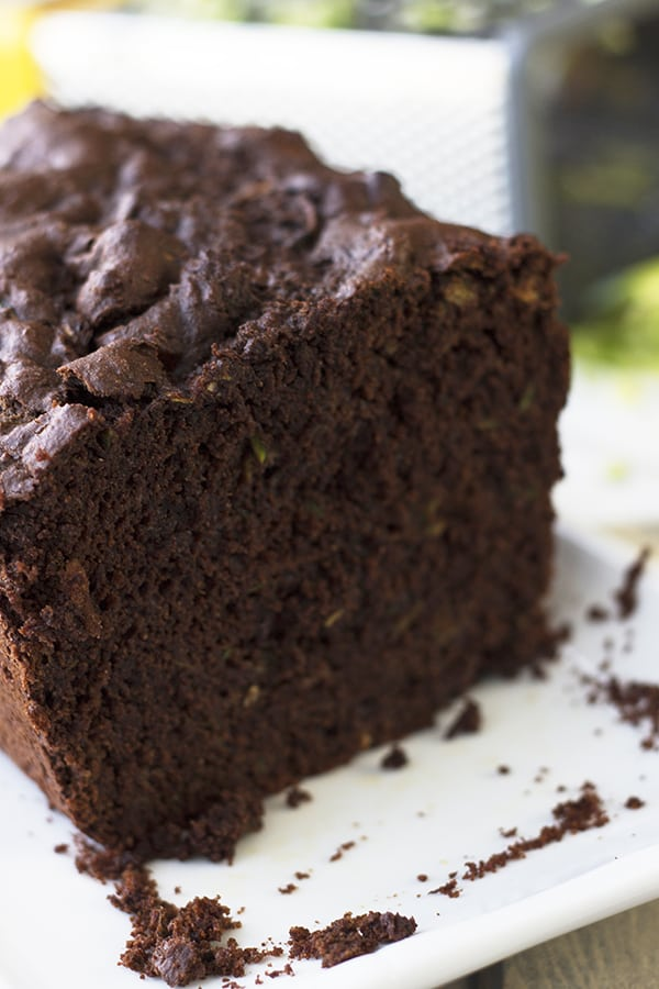 This Double Chocolate Zucchini Muffin Bread is rich, moist and super chocolatey! |Countryside Cravings