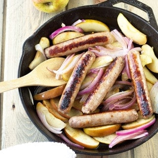 Sausages and Apples