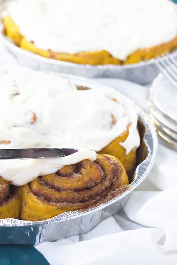 these are one of my favorite cinnamon rolls! Aside from caramel rolls ...