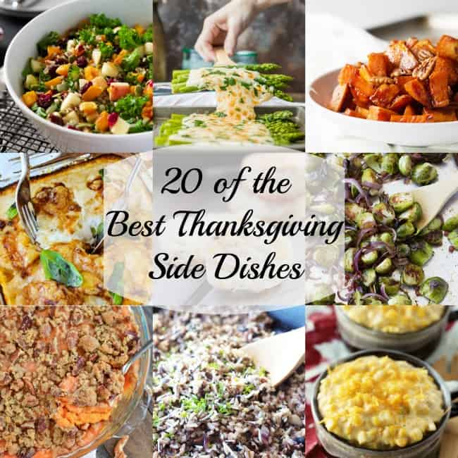 20 of the Best Thanksgiving Side Dishes!