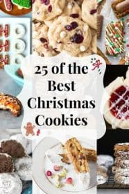 25 of the Best Christmas Cookies all in one place! | countrysidecravings.com