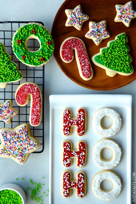 The Best Cutout Sugar Cookies | Just a Taste