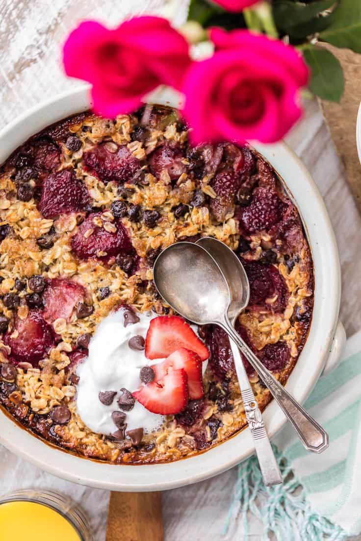 chocolate-covered-strawberry-baked-oatmeal-1-of-12