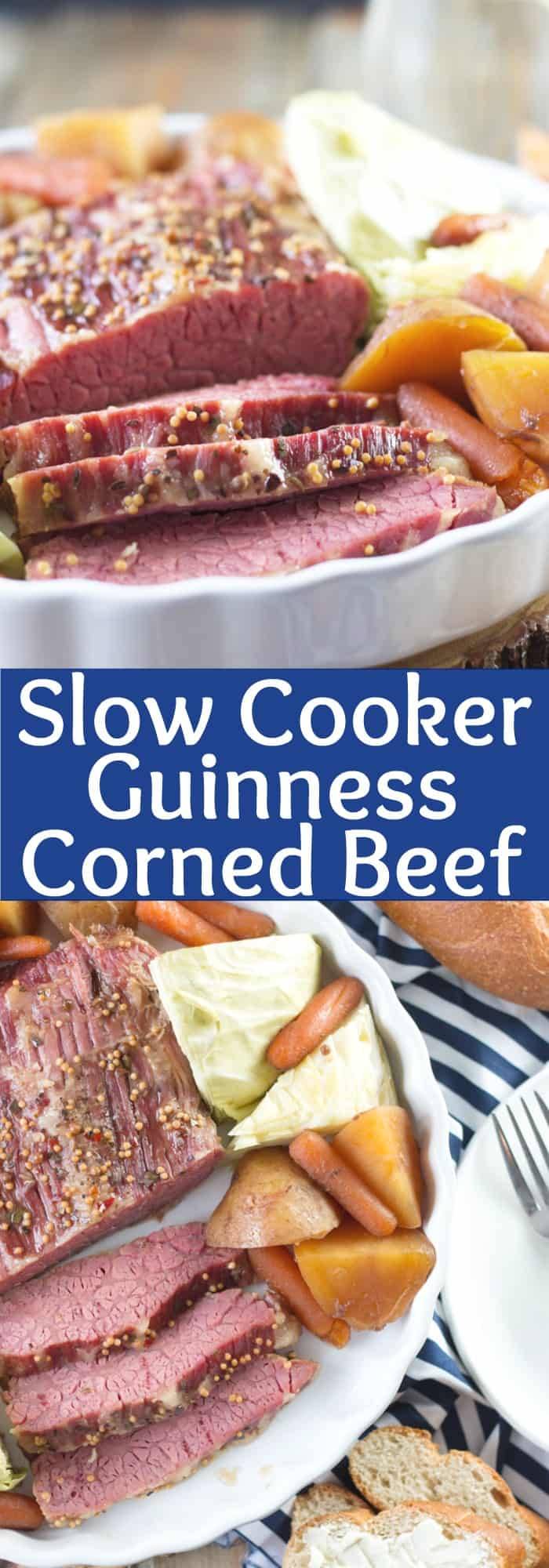 Slow Cooker Guinness Corned Beef -let the slow cooker do all the work ...