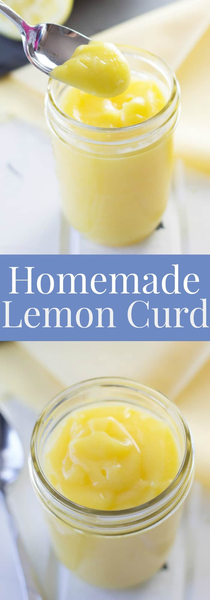 A quick and easy recipe for thick and luscious homemade Lemon Curd! | www.countrysidecravings.com