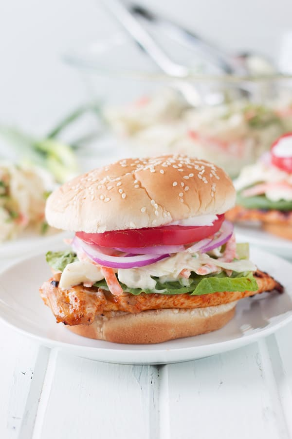 Grilled buffalo chicken sandwich countryside cravings for Buffalo chicken sandwich recipe grilled