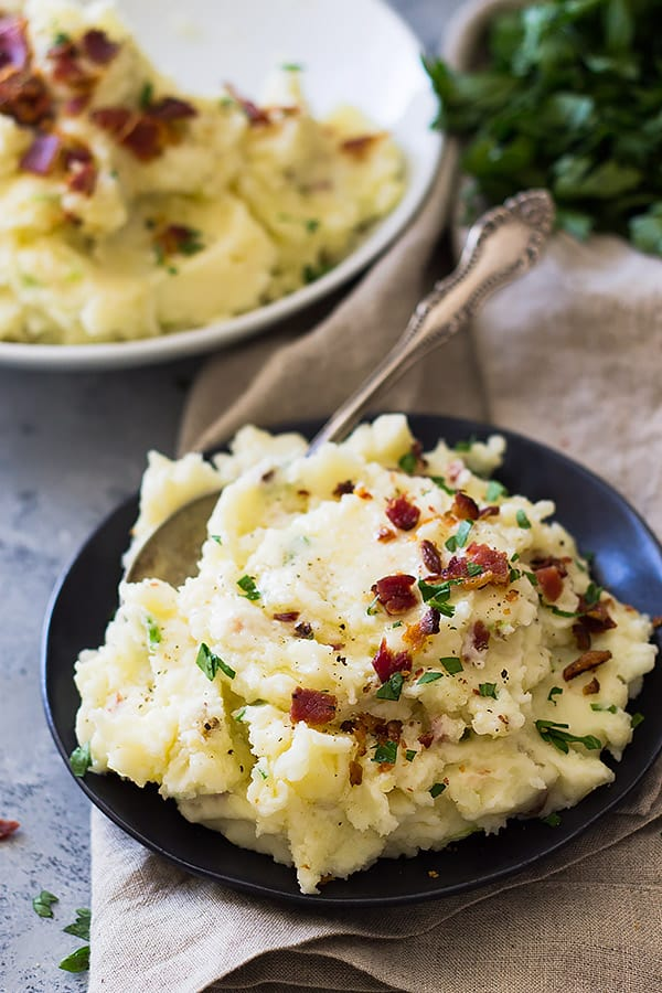 Bacon Mashed Potatoes   Countryside Cravings