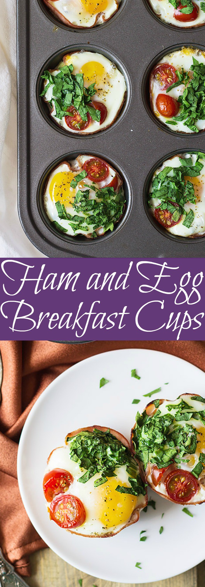 These Ham and Egg Breakfast Cups are an easy recipe that will delight the whole family! | www.countrysidecravings.com