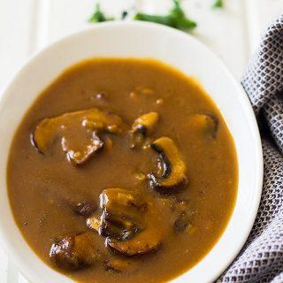 Easy Mushroom Gravy