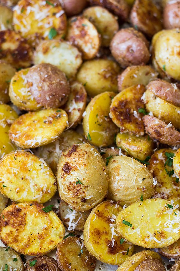 parmesan roasted potatoes roasted parmesan potatoes countryside cravings 30230