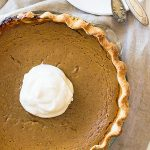This Traditional Pumpkin Pie is rich, velvety smooth and a must for a classic Thanksgiving dinner! | www.countrysidecravings.com