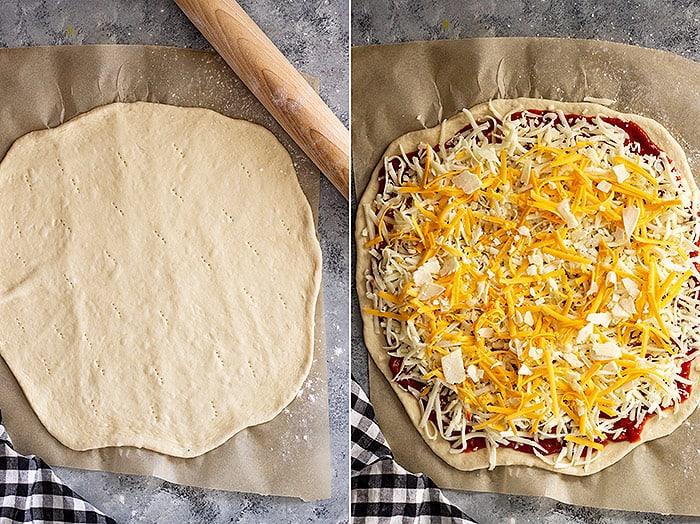 Pizza assembly