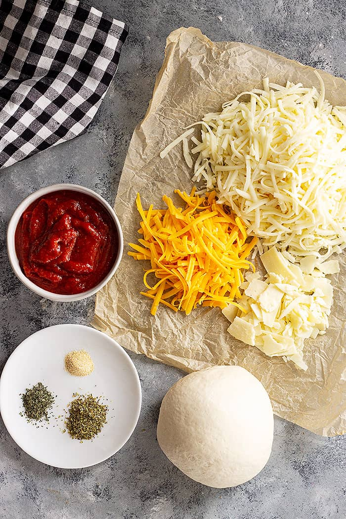 Cheese Pizza ingredients