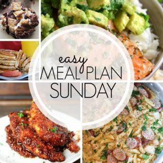 Easy Meal Plan Sunday (week 96)