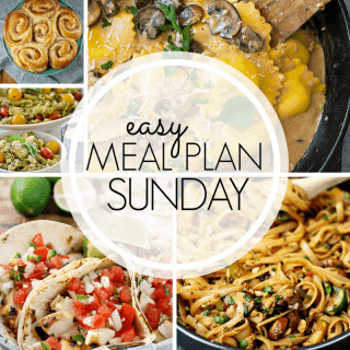 Easy Meal Plan Sunday (week 97)
