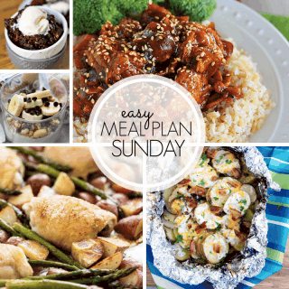 Easy Meal Plan Sunday (week 99)