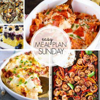 Easy Meal Plan Sunday (week 100)