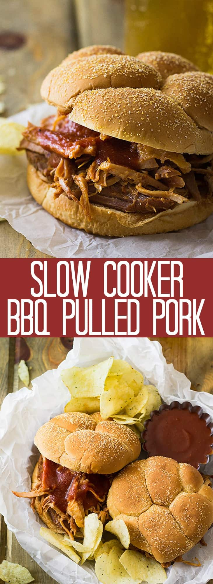 This Slow Cooker BBQ Pulled Pork is perfect for when you can't use your smoker but want some great bbq! It's full of flavor, tender and made easy with your crockpot!