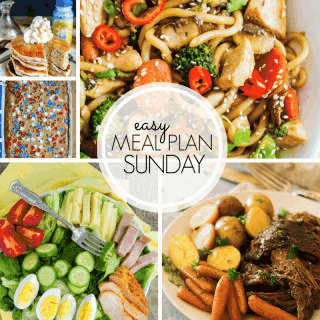 Easy Meal Plan Sunday (week 102)