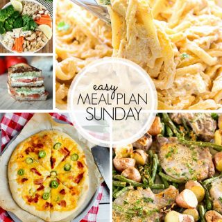 Easy Meal Plan Sunday (week 103)