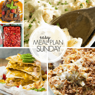 Easy Meal Plan Sunday (Week 104)