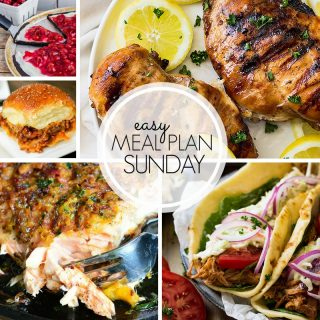 Easy Meal Plan Sunday (Week 105)