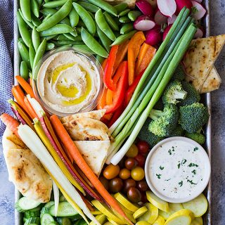 How To Make A Vegetable Tray