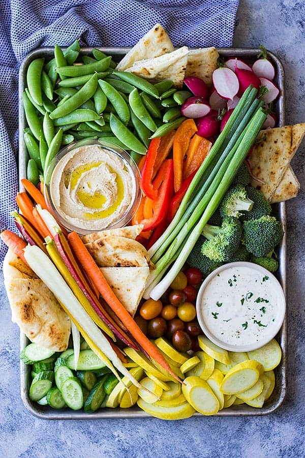 This guide on how to make a vegetable tray is great for parties! Make a homemade ranch dressing to go with it and you're sure to please everyone!