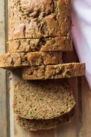 This super easy zucchini quick bread recipe is filled with grated zucchini, cinnamon, clove, and lots of options for stir-ins!
