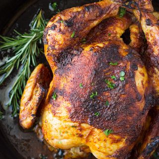 Homemade Oven Roasted Rotisserie Chicken