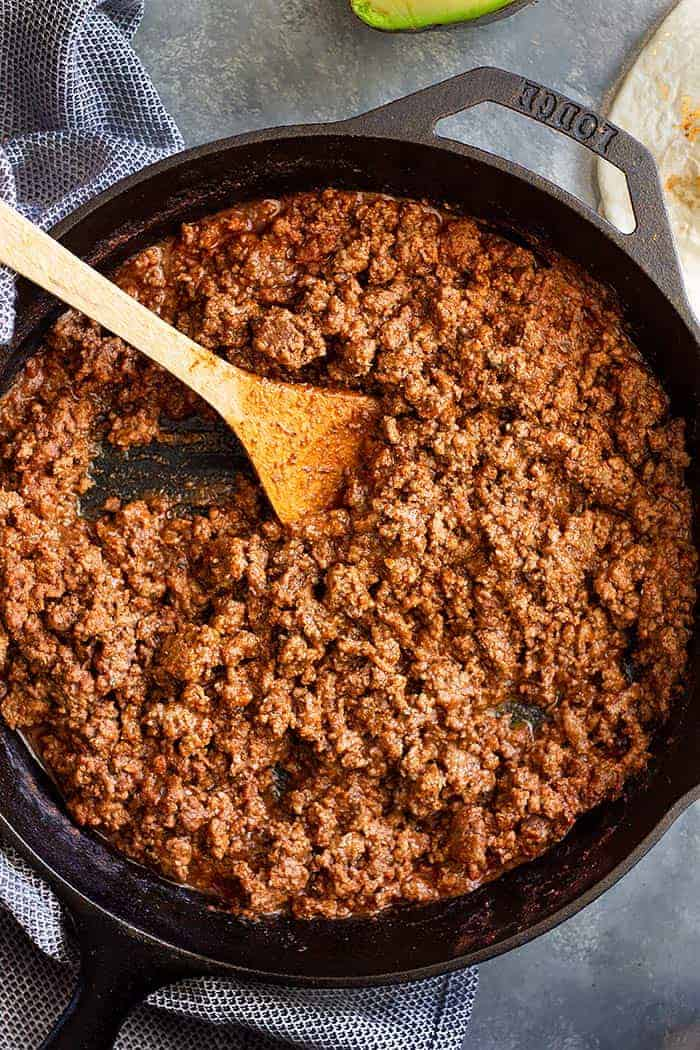 Homemade Ground Beef Taco Meat Countryside Cravings
