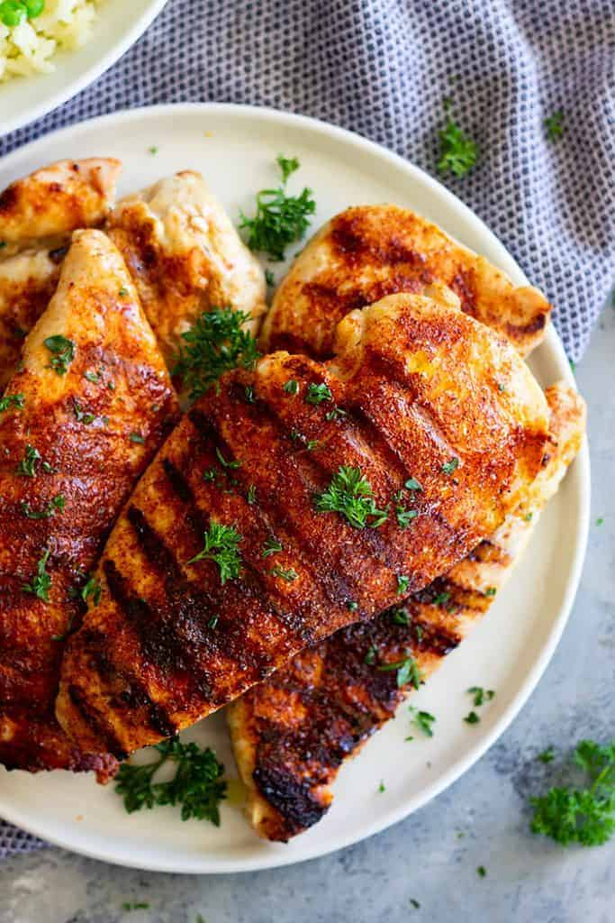 Sweet BBQ Rub for Chicken -is an easy way to give boring chicken a lot of flavor. It's easy to make and cheaper than buying it from the store.